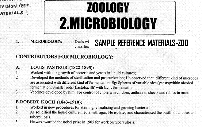 Sample Materials - Professionally editted Reference-cum-Revision Materials - Biology - starwin.in